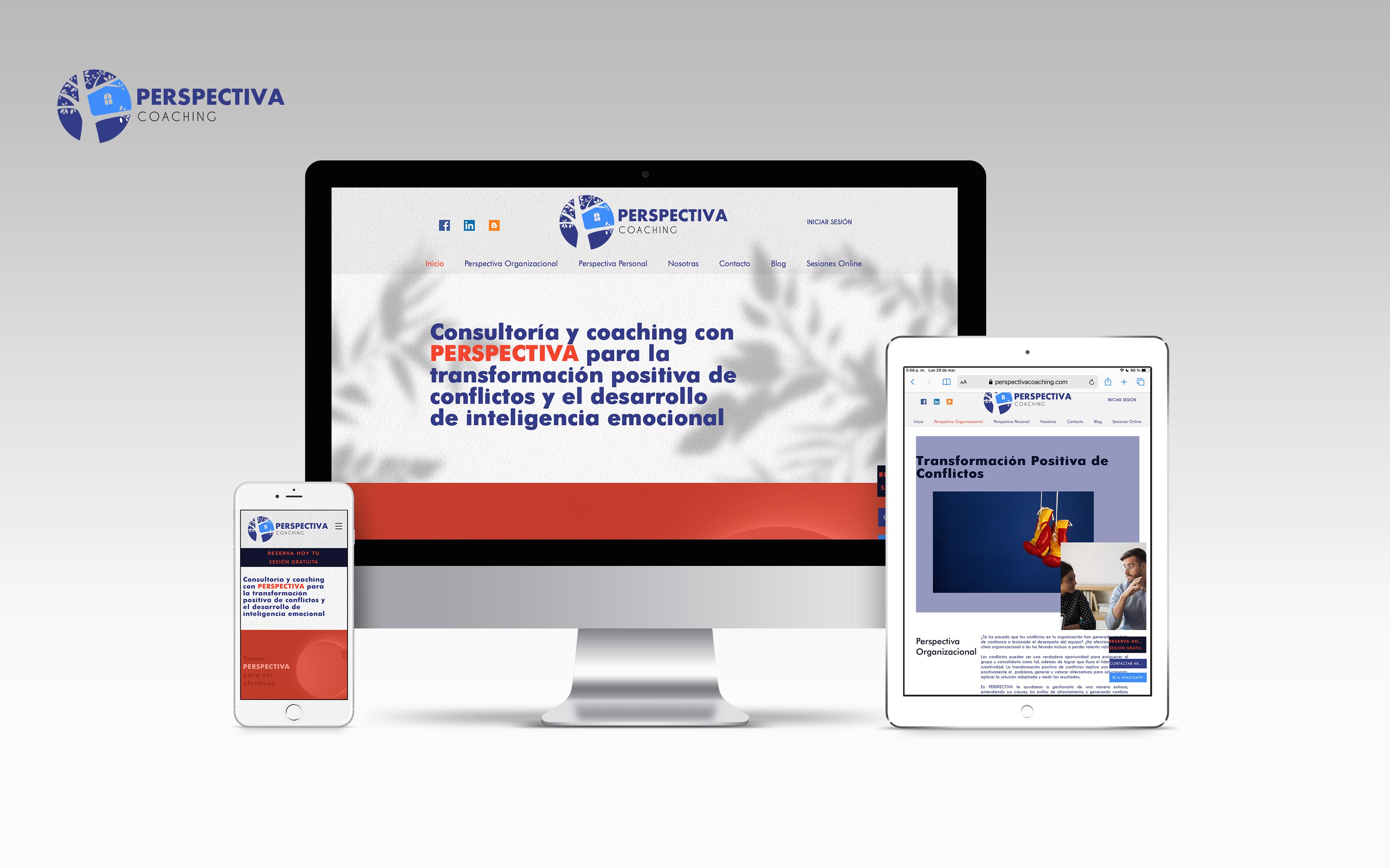 Perspectiva Coaching Reservas, blog, sitio web corporativo de Perspecti...