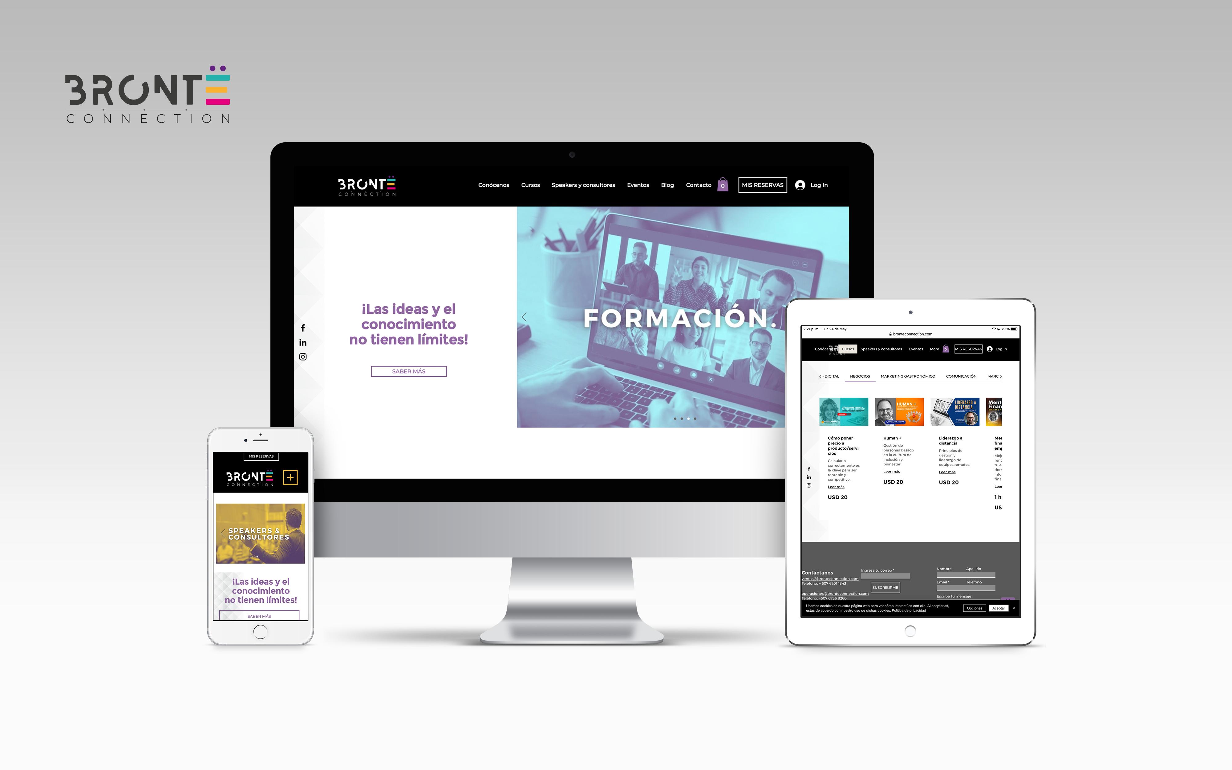 Brontë Tienda en línea de programas y cursos especializad...
