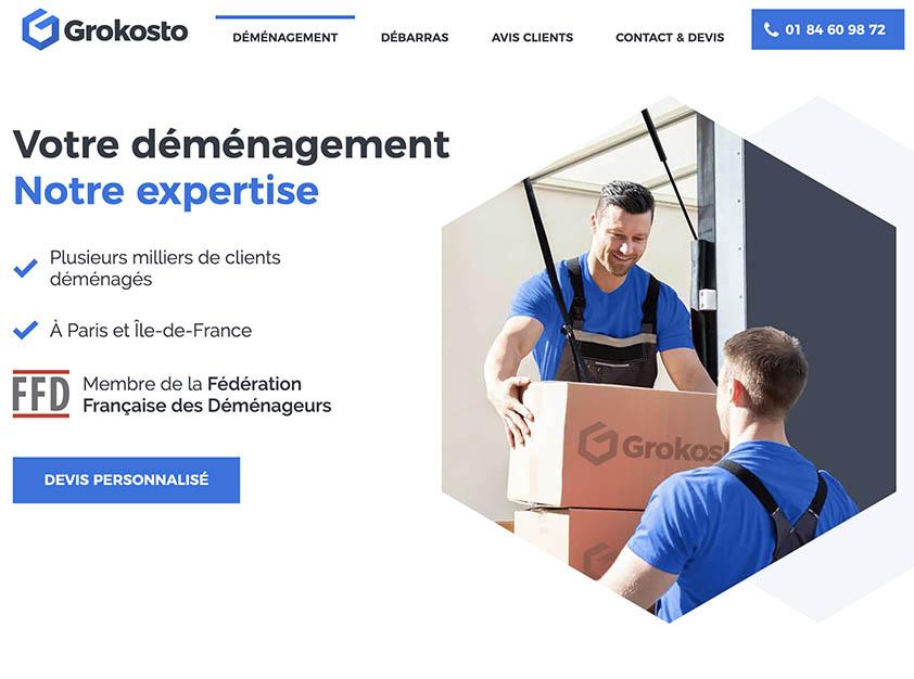 Grokosto Entreprise de déménagement à Paris, France.