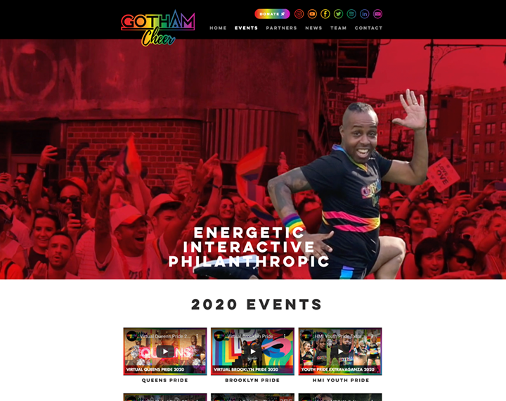 Gotham Cheer - Cheerleading Group Gotham Cheer is the New York Leading LGBTQ+ cheerl...