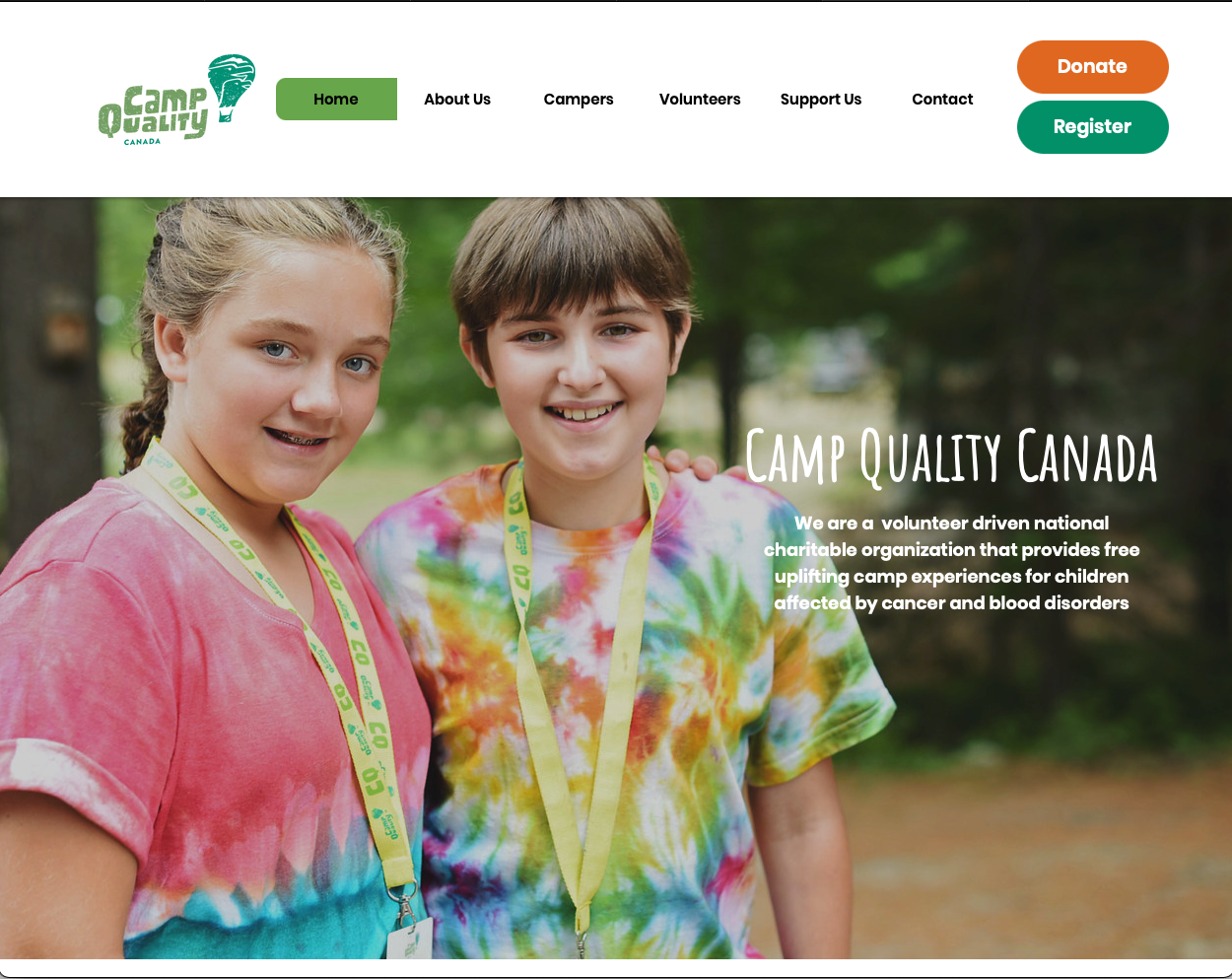 Camp Quality Camp Quality is a charity organization providing c...