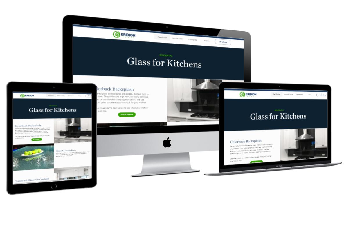 eridionglass Website needed customize kitchen functionality.