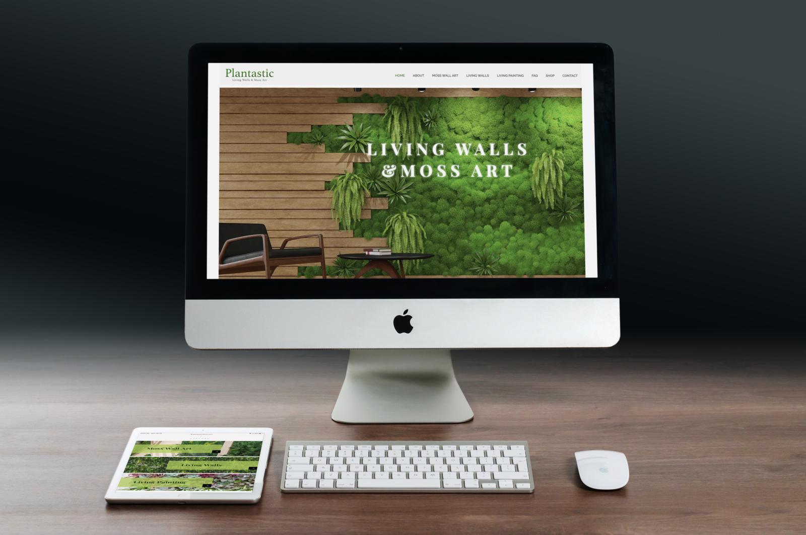 Plantastic Logo design & Website Design