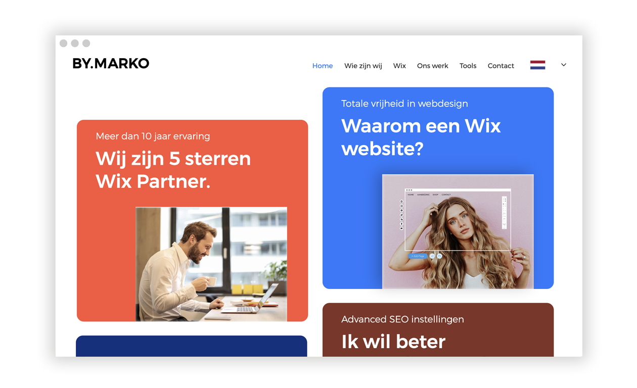 By Marko Alles begint met een geweldige website en een gewe...