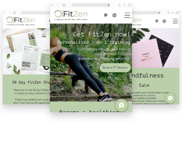fitzen Logo design, business email, website design, 134 p...