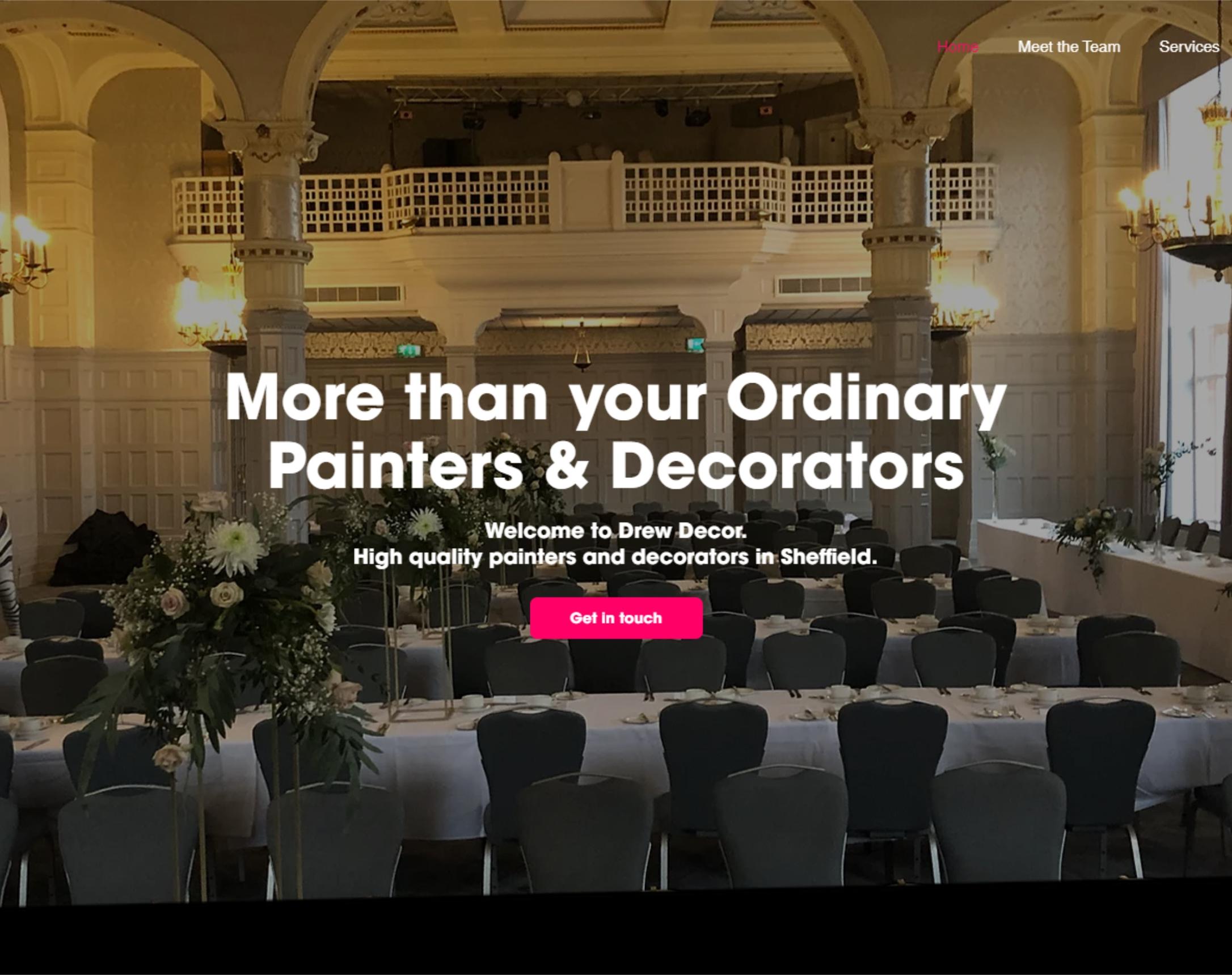 Drew Decor Drew Decor. High quality painters and decorators i...