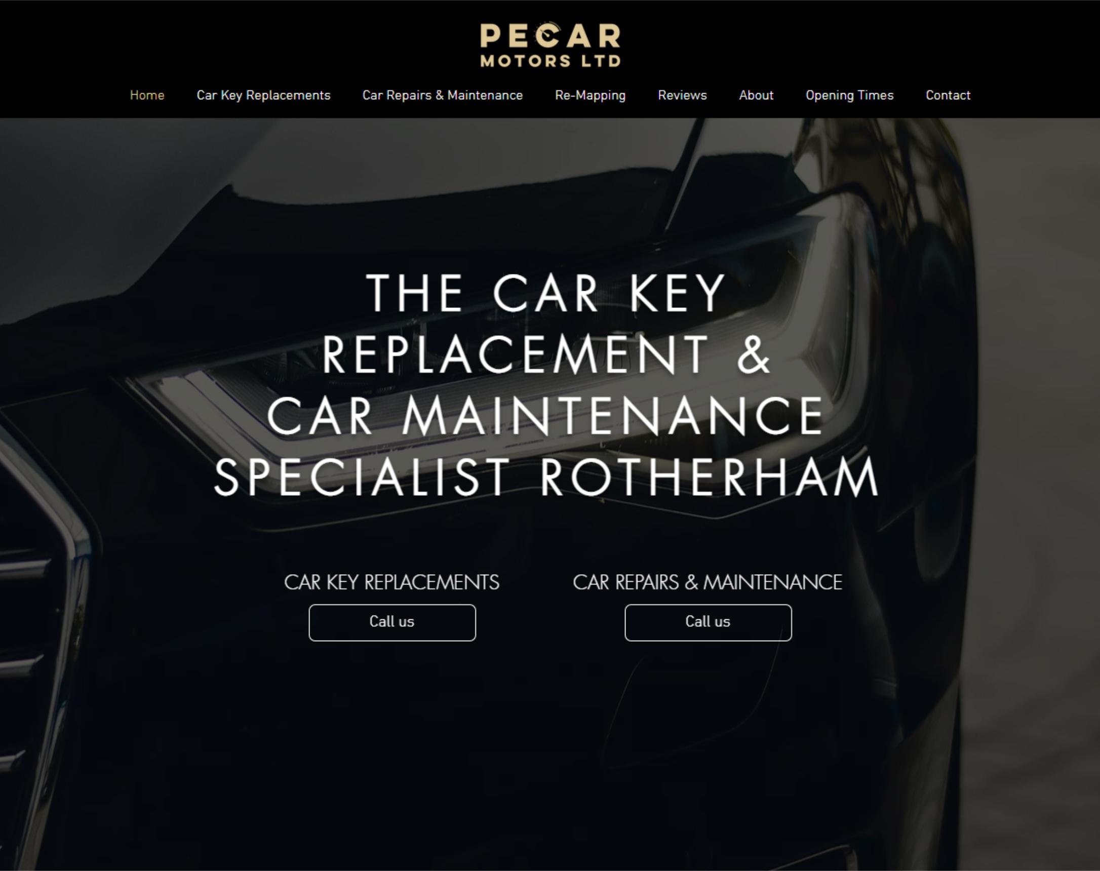 Pecar Motors Pecar Motors. Specialists in car repairs and maint...