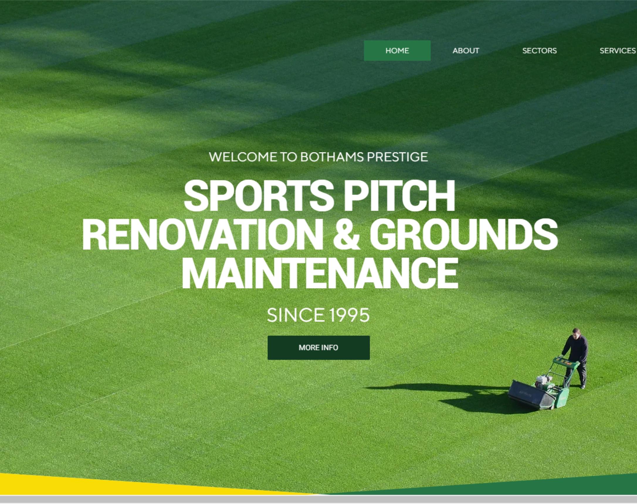 Bothams Prestige Bothams Prestige are providers of sports pitch ren...