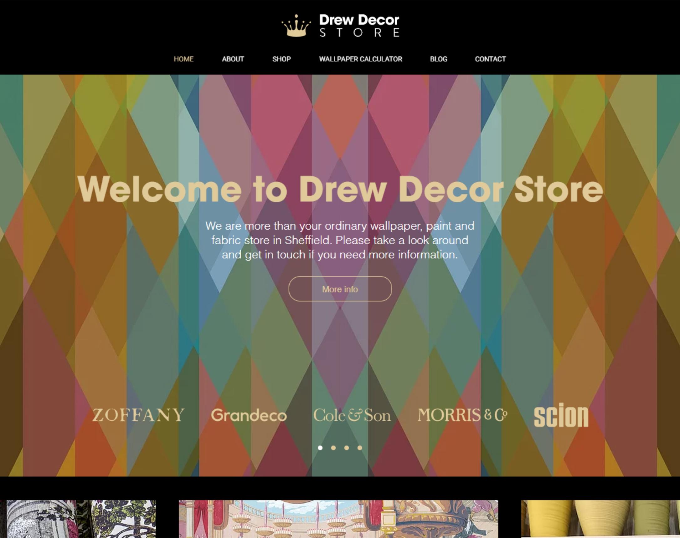 Drew Decor Store Drew Decor Store is a small, family run business l...
