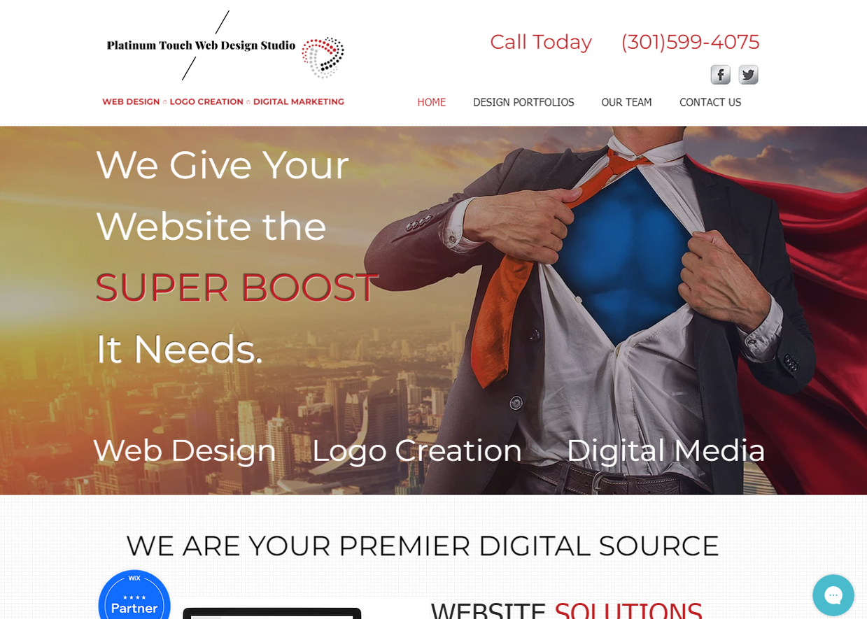 PT Web Design This is our website that we use to showcase our we...