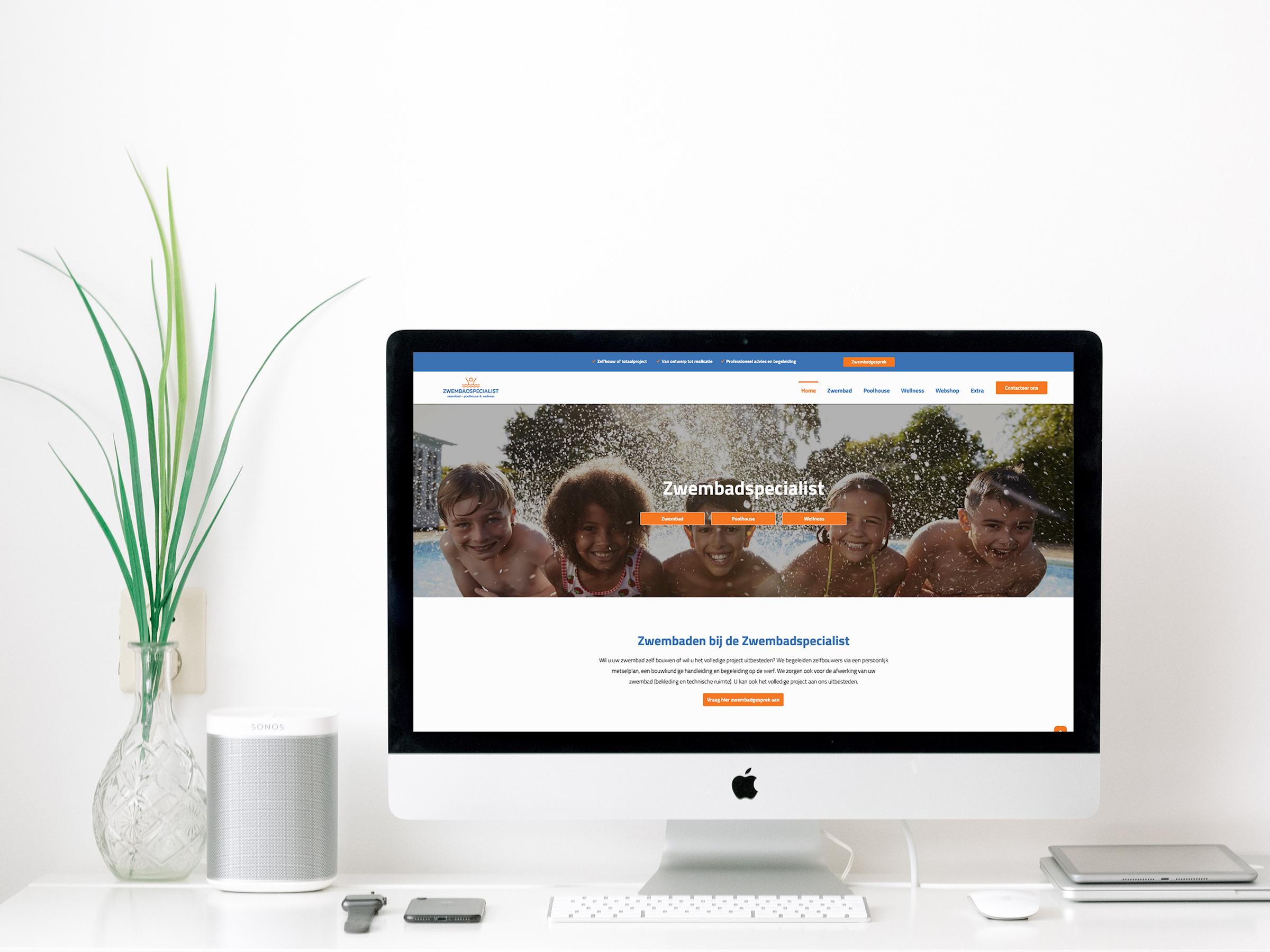 Zwembadspecialist ➡️ Webdesign ➡️ Webshop ➡️ Mobielvriendelijk