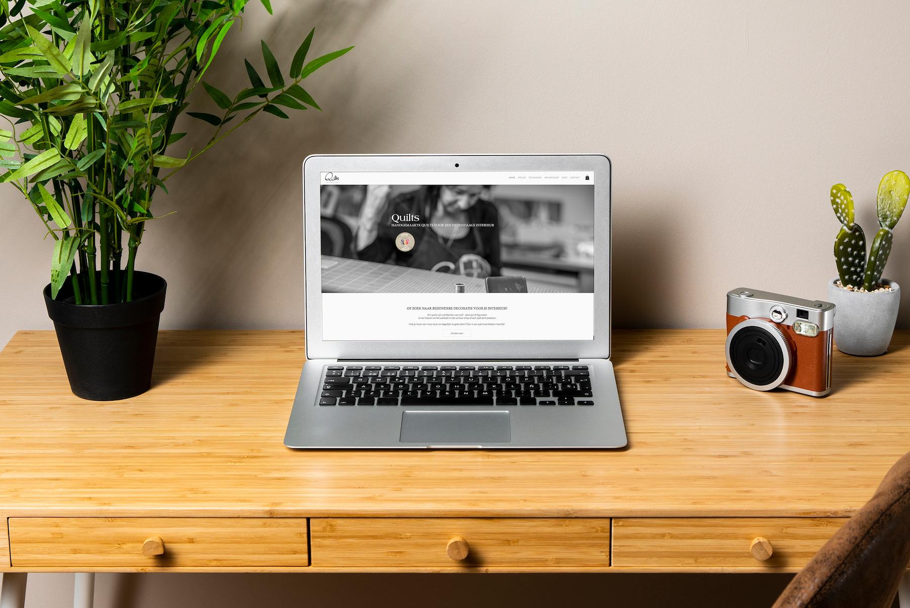 Quilts ➡️ Webdesign ➡️ Mobiel ➡️ SEO ➡️ Webshop