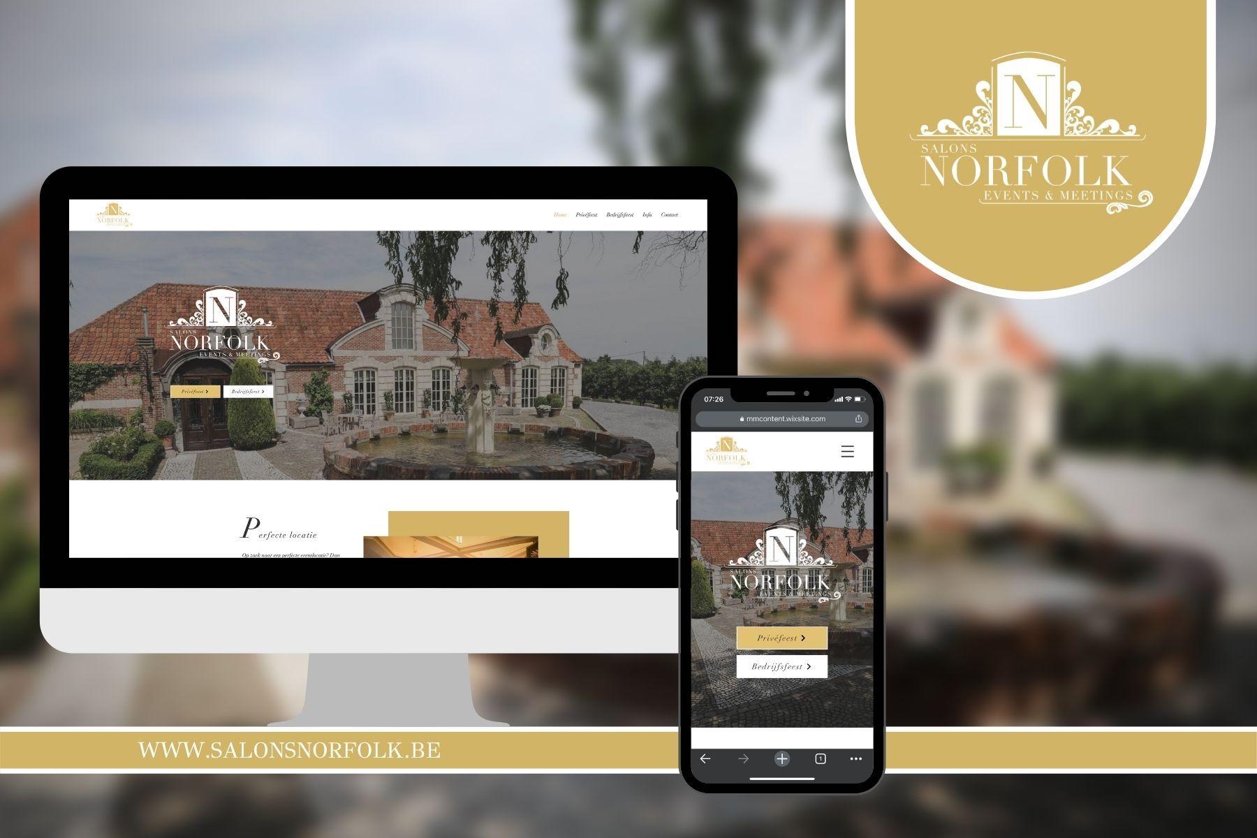 Salons Norfolk ➡️ Webdesign ➡️ SEO ➡️ Mobielvriendelijk ➡️Huissti...