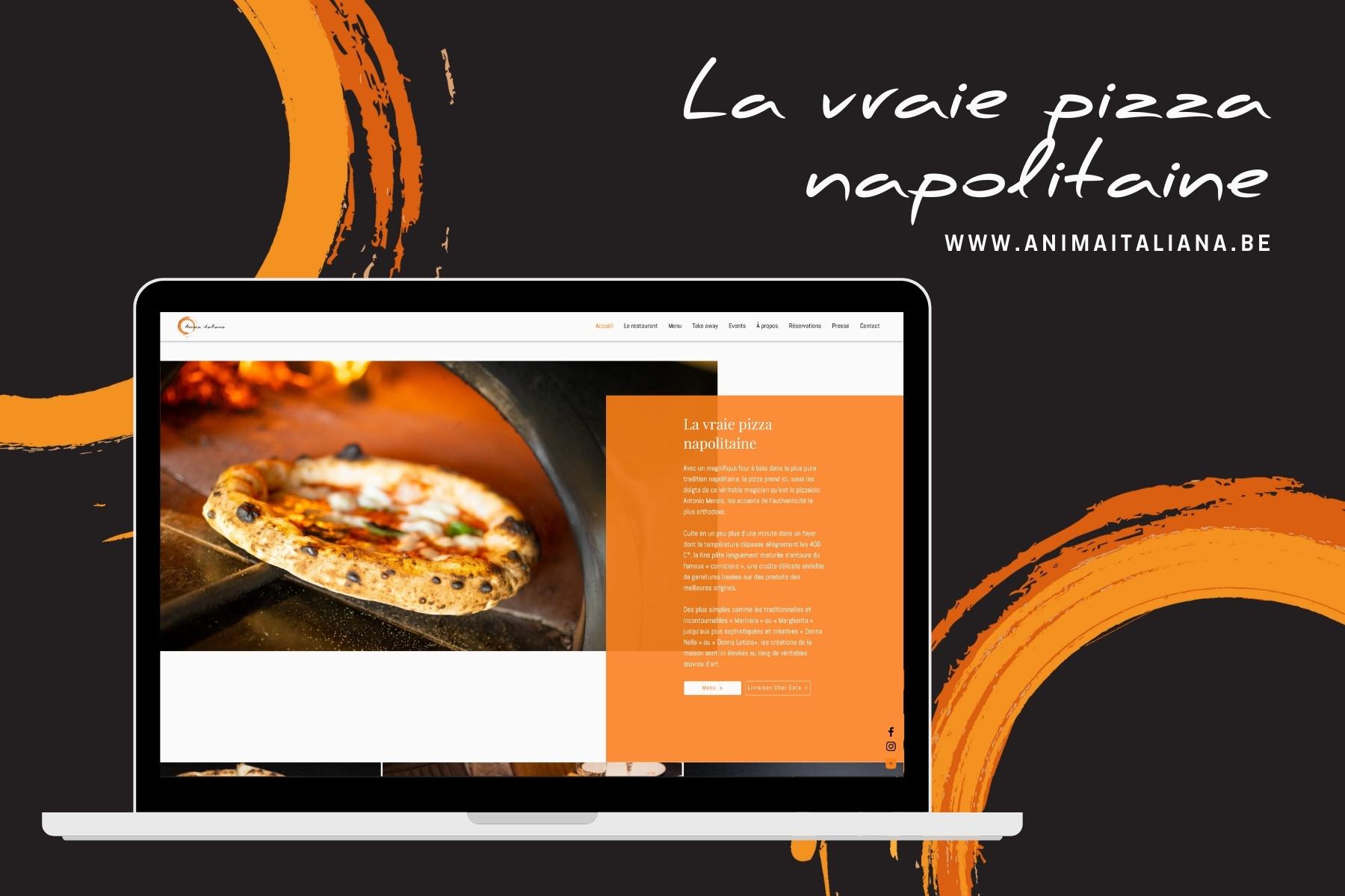 Anima Italiana ➡️ Webdesign ➡️ Online reserveringen ➡️ Take away ...