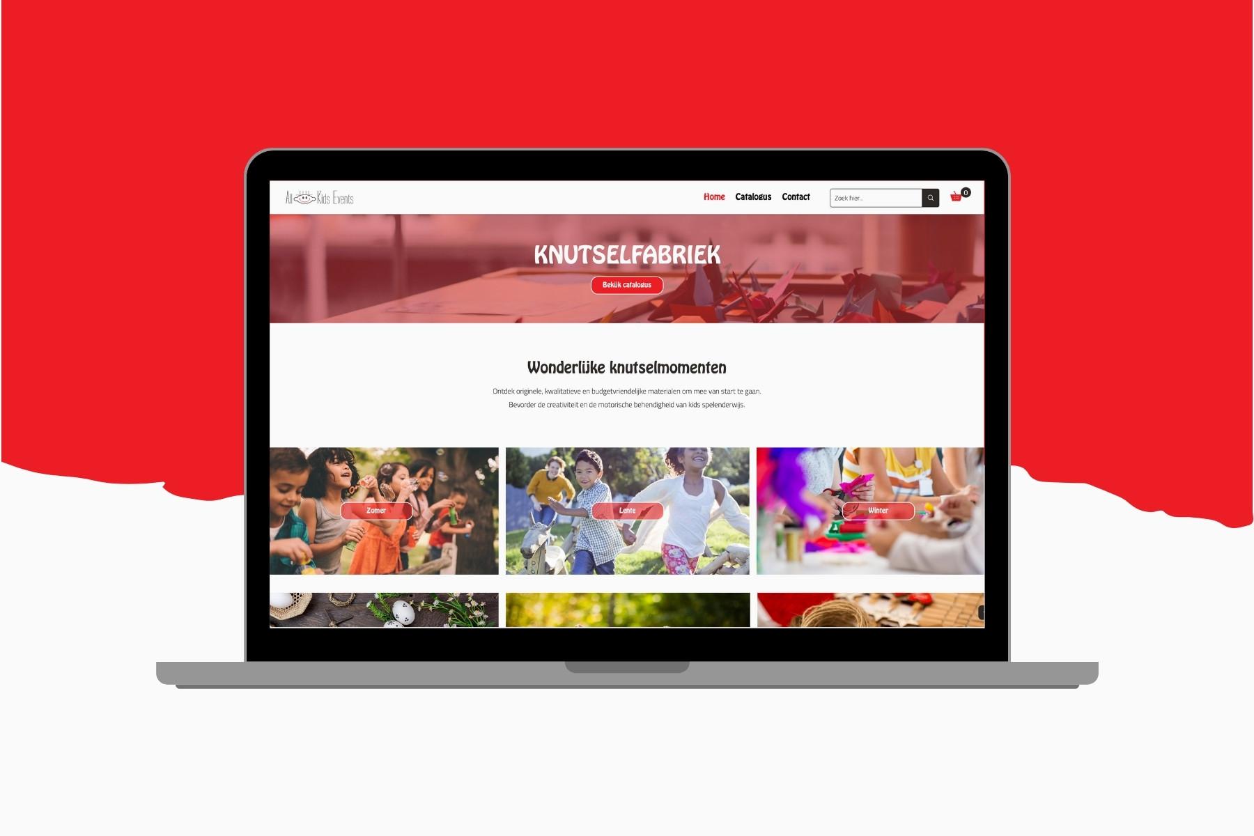 Knutselfabriek ➡️Webdesign ➡️(Offerte)-webshop