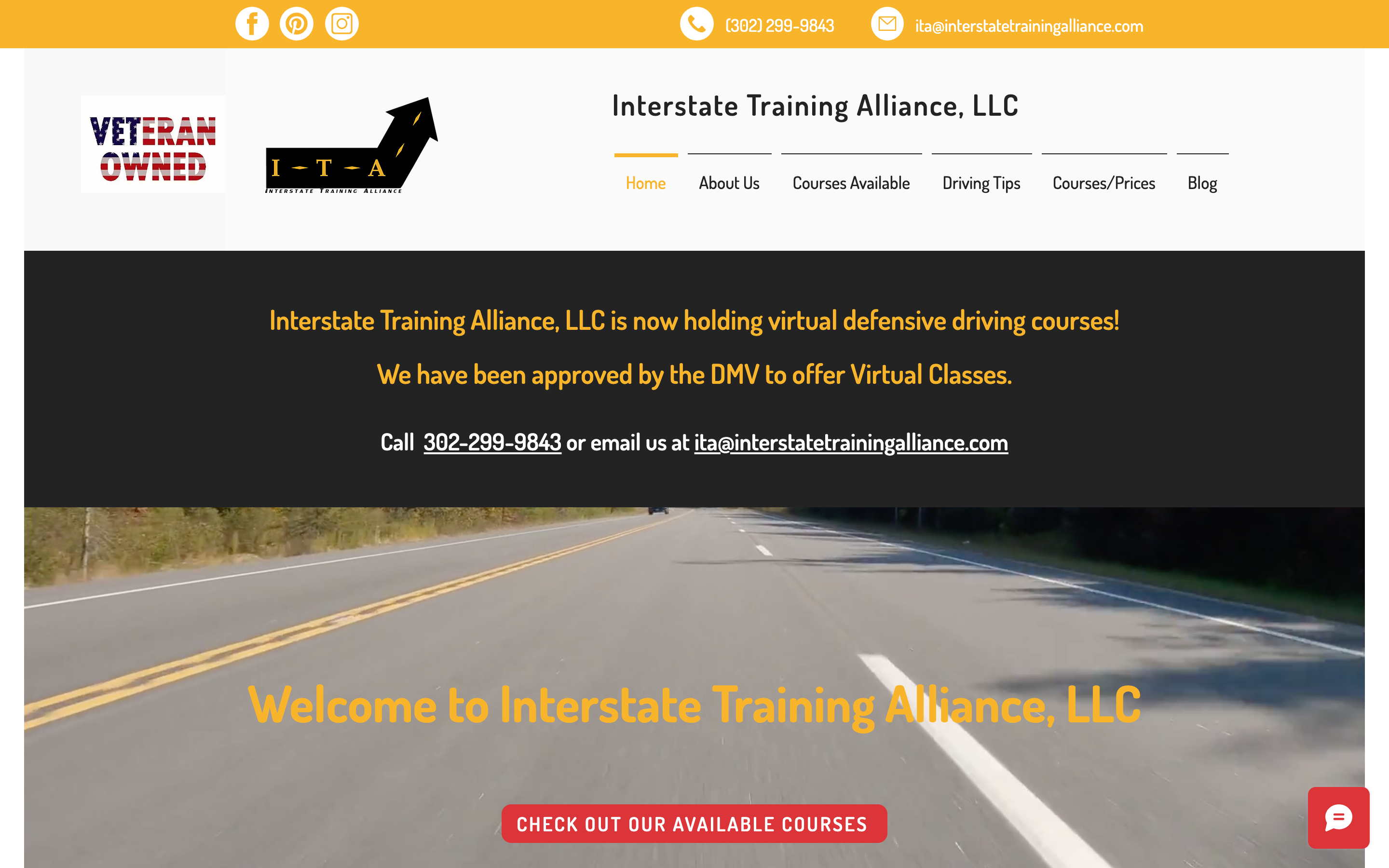Interstate Training Alliance, LCC New design and site migration from WordPress to Wi...