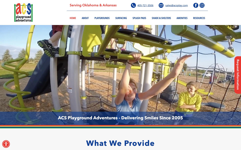 ACS Playground Adventures Amazing new website for ACS Playground Adventures!