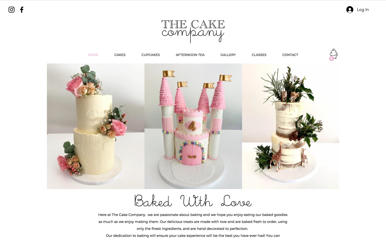 The Cake Company E-shop Cake & Cupcake