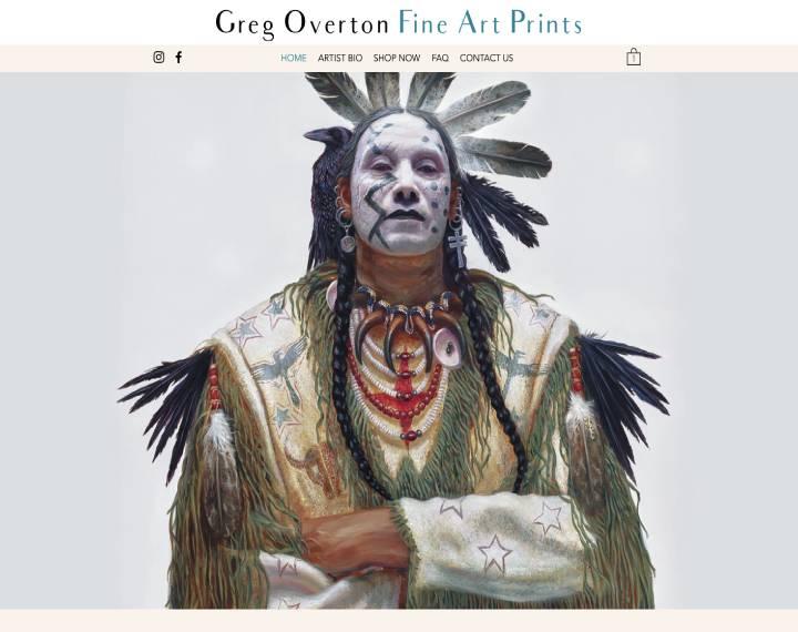 Greg Overton Art Prints