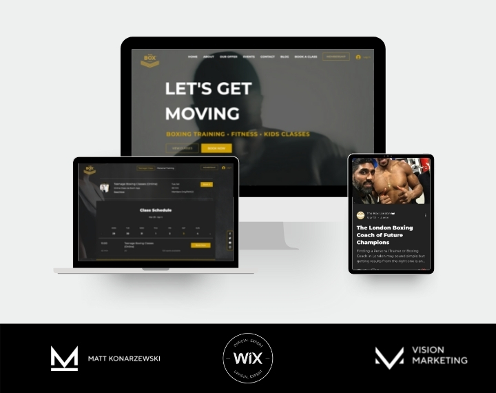 The Box London Boxing Gym in London  Features: - WIX Bookings - W...