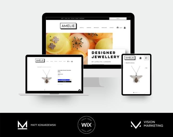 Amelie Shop E-Commerce Website