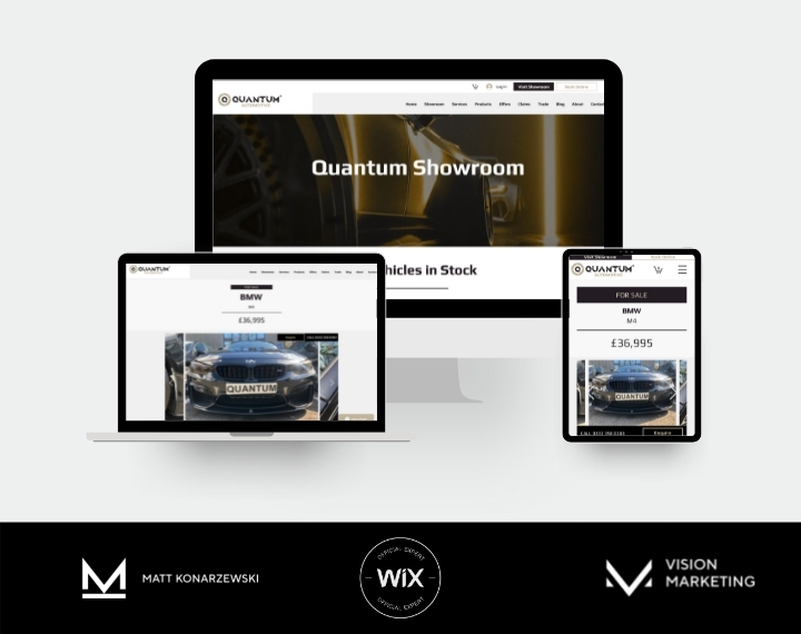 Automotive Website - Showroom coding - Search