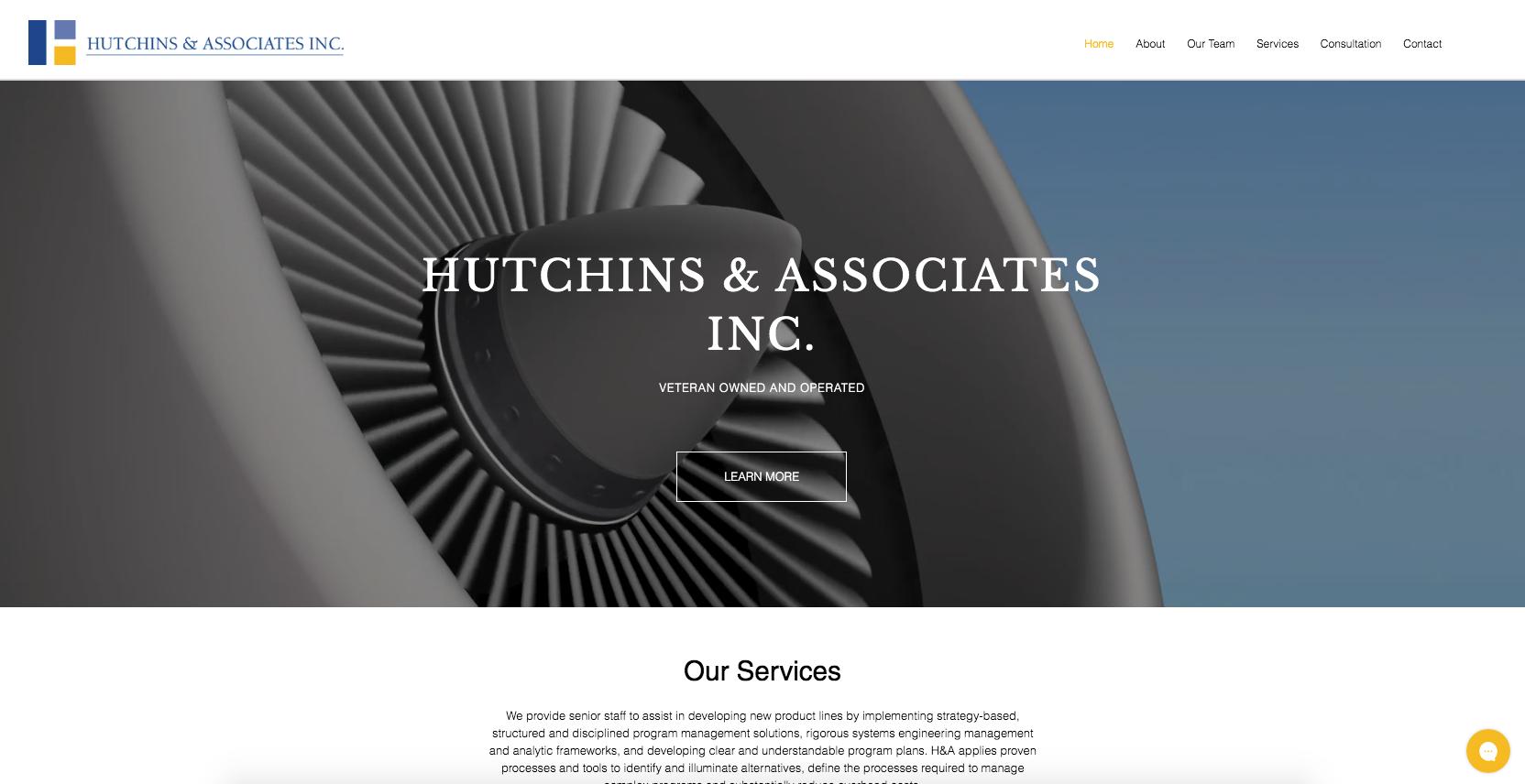 Hutchins & Associates INC. We provide senior staff to assist in developing ne...