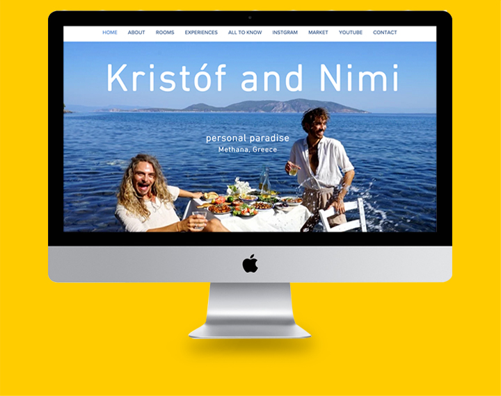 Kristof & Nimi Kristof & Nimi are a couple who ran away to Greece...