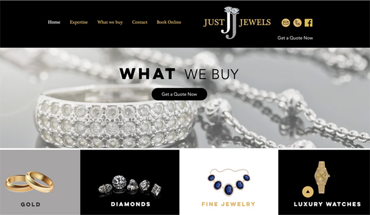 Just Jewels USA Buyers of gold, diamonds, luxury watches and more,...