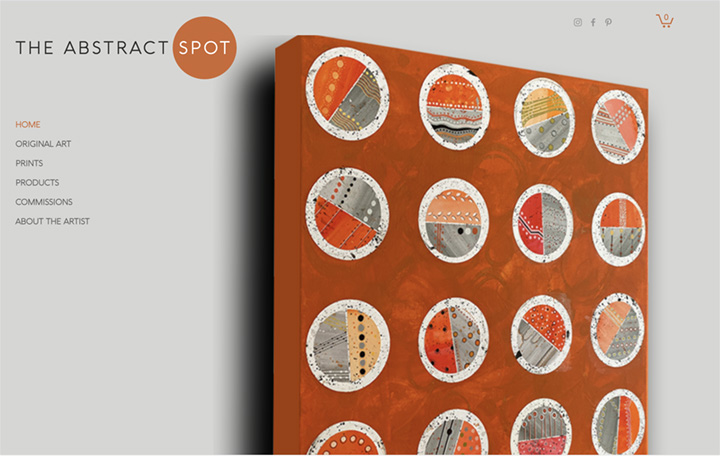 The Abstract Spot A showcase for contemporary abstract art for galle...