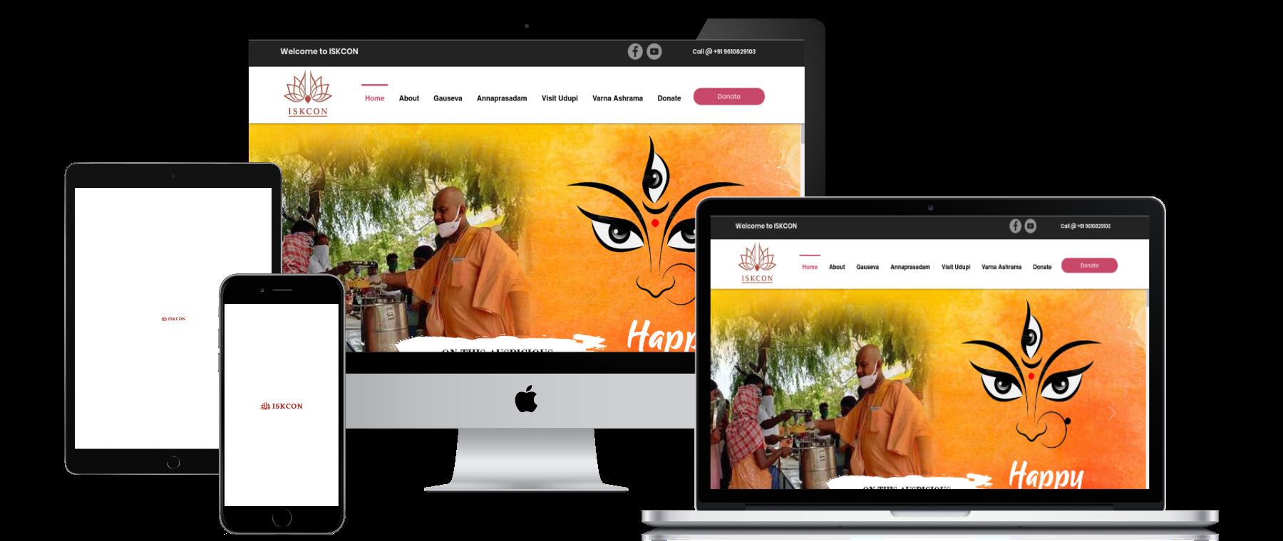 Welcome to ISKCON SRILA PRABHUPADA  His Divine Grace A. C. Bhaktive...