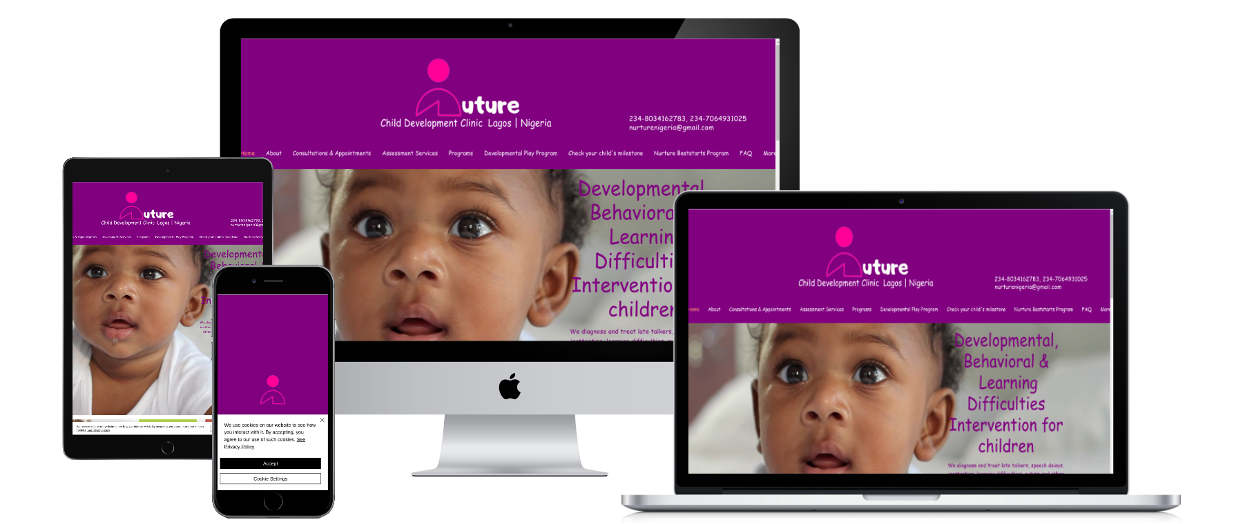 NURTURE Child Development Clinic  Lagos Multidisciplinary, Eclectic, Individualized.  We w...