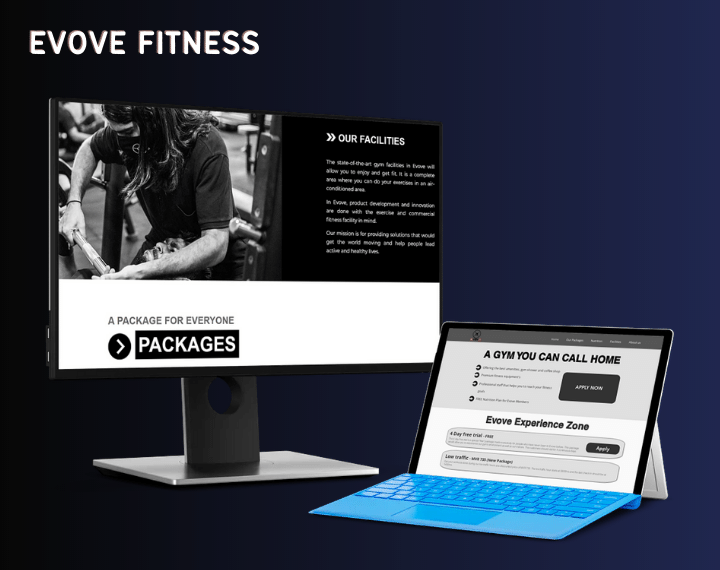 Evove Fitness Evove Fitness is a website that is fully managed a...