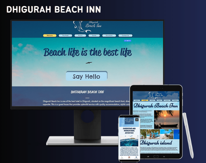 Dhigurah Beach Inn The Maldives is known for its Luxury Tourism. We h...