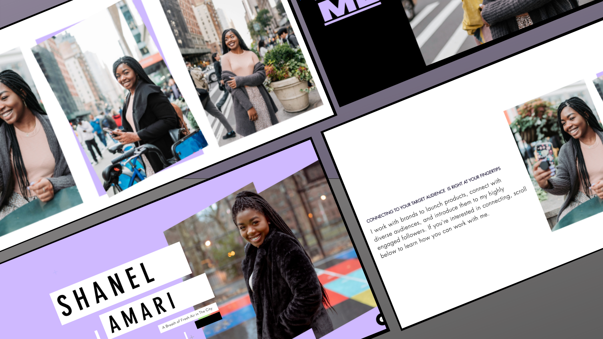 shanelamari A website and strategy update for Influencer focus...