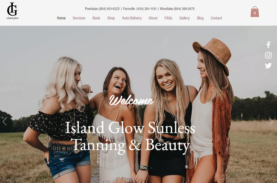 IslandGlowVA Beauty Salon