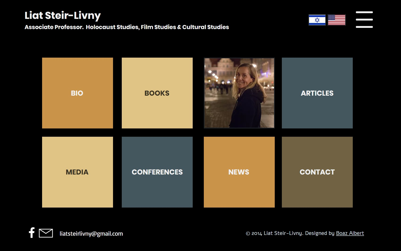 Liat Steir Livny A personal website for an academic researcher and ...