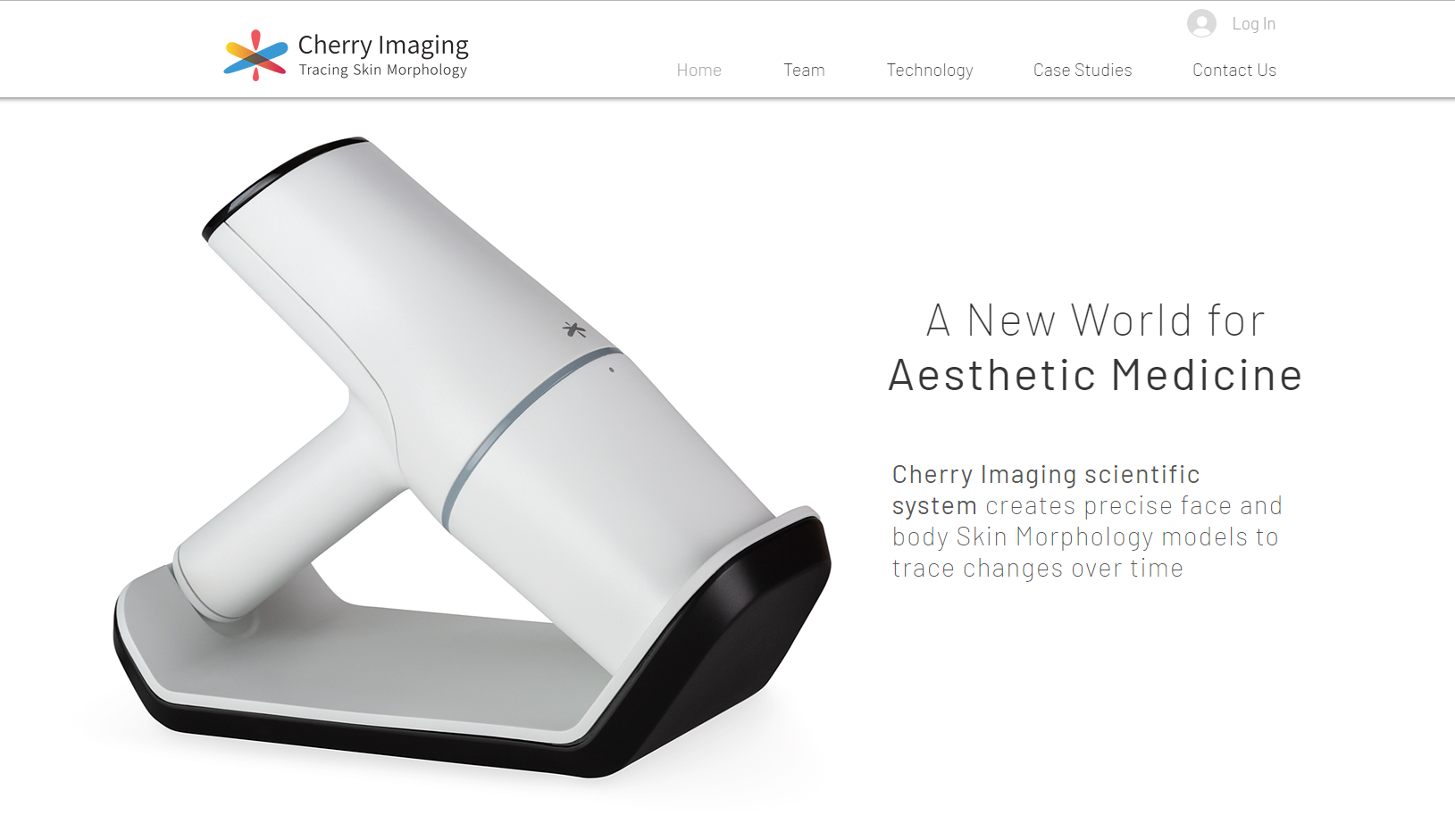 Cherryimaging.com Redesign an exciting website for a cosmetic produc...